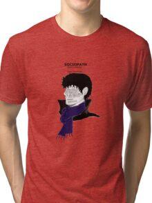 Sherlock Sociopath Tri-blend T-Shirt