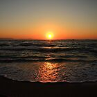 Just Another Sunset - the Sun Says Good Night by Themis