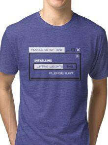 MUSCLE_SETUP.EXE Tri-blend T-Shirt