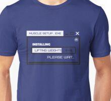 MUSCLE_SETUP.EXE Unisex T-Shirt