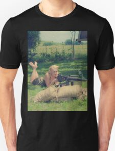 WWII Pinup Unisex T-Shirt