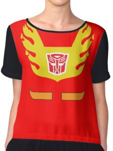 Hot Rod - Transformers 80s Chiffon Top