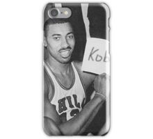 Kobe's 80 point game and Wilt's 100 point game Mashup  iPhone Case/Skin