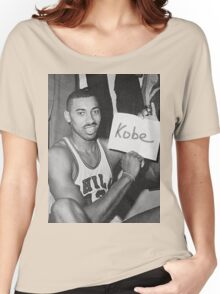 Kobe's 80 point game and Wilt's 100 point game Mashup  Women's Relaxed Fit T-Shirt