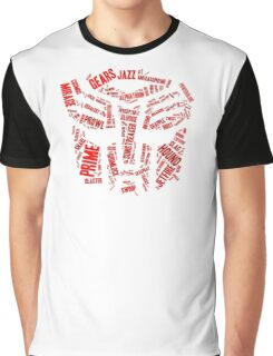 Transformers - Autobot Wordtee Graphic T-Shirt