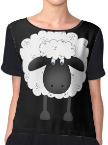 Sheep. Chiffon Top