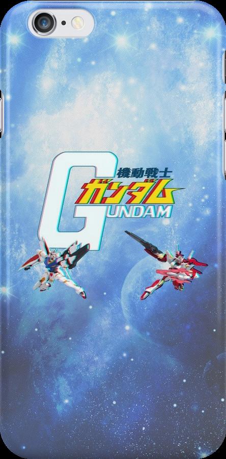 Gundam 3D by mixiemoon