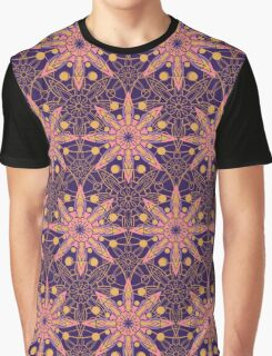 Lacy tile pattern Graphic T-Shirt