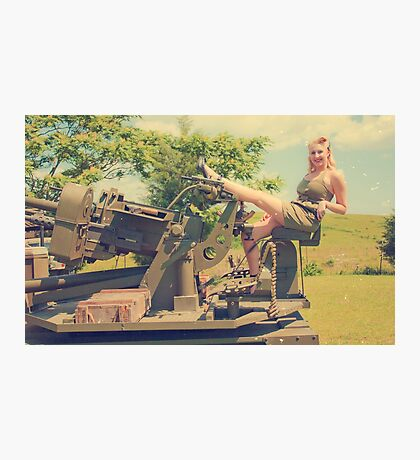 WWII Pinup Photographic Print