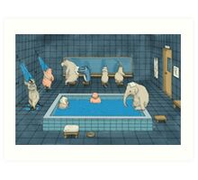 The Bathers Art Print