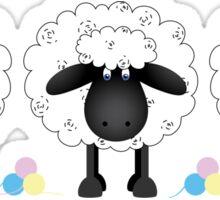 Trio of sheep Sticker