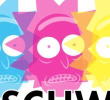 GET SCHWIFTY (CMYK) Sticker