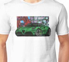 naquash design alfa romeo 4c Unisex T-Shirt