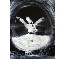 SUFI WHIRLING  - FEBRUARY 21,2013 Photographic Print