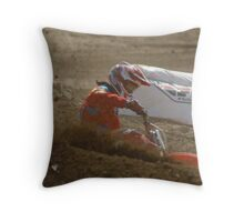 #6 Nice Corner Roost Loretta Lynn's SW Area Qualifier Competitive Edge MX - Hesperia, CA. USA  Throw Pillow