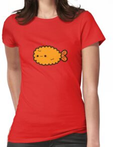 Cute prawn tempura Womens Fitted T-Shirt