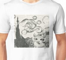 The starry night Unisex T-Shirt