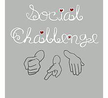Social Challenge Photographic Print