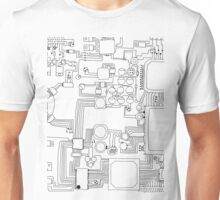 Circuit board. Unisex T-Shirt
