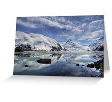 Portage Lake, Alaska Greeting Card