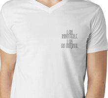 Wait For It - Hamilton Mens V-Neck T-Shirt