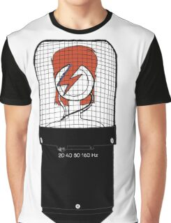 David Bowie: A Mic To Our Hearts Graphic T-Shirt