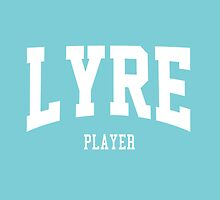 Lyre Player by ixrid
