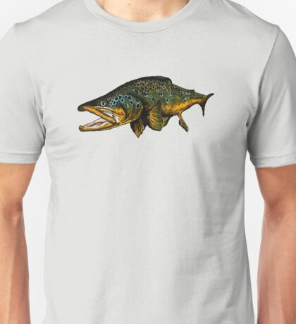 Brown Unisex T-Shirt