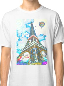 Eiffel Tower Paris France Classic T-Shirt