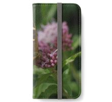 Speckled Wood Butterfly. iPhone Wallet/Case/Skin