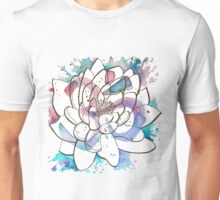 "Watercolor Lotus ""OM"" Unisex T-Shirt"