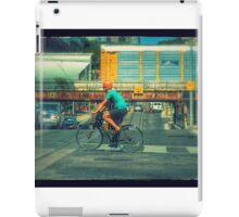 City Cyclist iPad Case/Skin