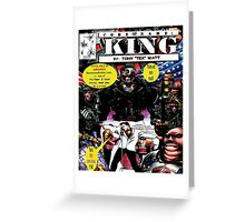 """Code Name: King""  - Comic Book Promo Poster  Greeting Card"