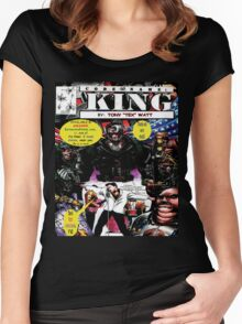 """""""Code Name: King""""  - Comic Book Promo Poster  Women's Fitted Scoop T-Shirt"""