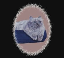 Bayou - A Portrait of a Himalayan Cat  Kids Clothes
