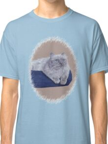 Bayou - A Portrait of a Himalayan Cat  Classic T-Shirt