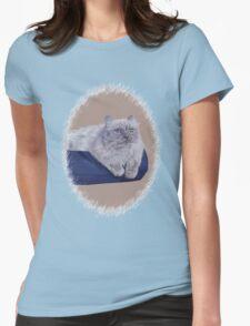 Bayou - A Portrait of a Himalayan Cat  T-Shirt