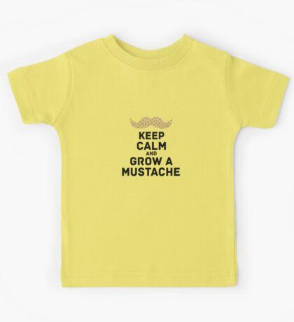 keep calm browndots Kids Tee