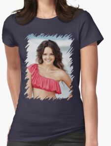 Rebecca Breeds - Oil Paint Art Womens Fitted T-Shirt
