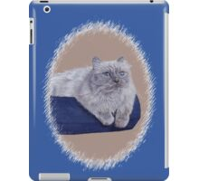 Bayou - A Portrait of a Himalayan Cat  iPad Case/Skin