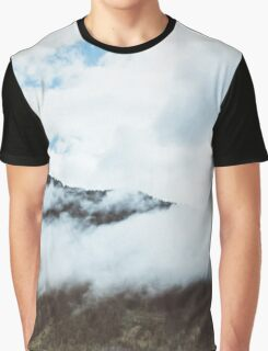 Clouds Over the Hill Graphic T-Shirt