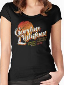 Gordon Lightfoot Women's Fitted Scoop T-Shirt