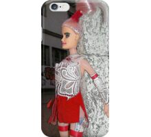 Barbie works hard for the money iPhone Case/Skin