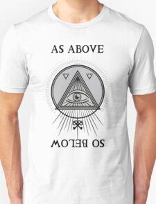 Hermetic Sigil [Dark Version] Unisex T-Shirt