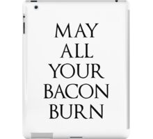 May All Your Bacon Burn    Howl's Moving Castle iPad Case/Skin