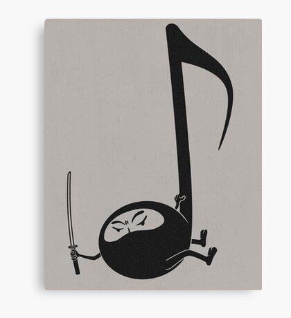 Ninjaaaaah! Canvas Print