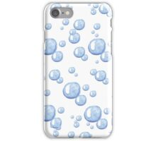 Floating bubbles. Beautiful  background  iPhone Case/Skin