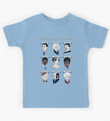 Great Minds of Science {Set} Kids Tee