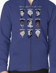 Great Minds of Science {Set} Zipped Hoodie