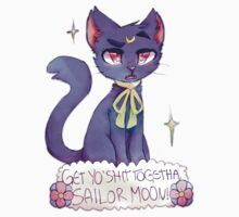 Sailor Moon Crystal - pissed Luna One Piece - Short Sleeve